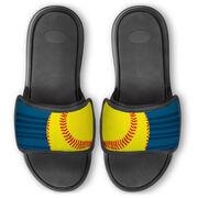 Softball Repwell® Slide Sandals - Ball Reflected