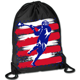 Sport Pack Cinch Sack USA Laxer