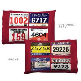 Running Pillowcase - Custom Race Bib (4 Bibs)
