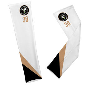 Arm Sleeves - Las Vegas Sinners Logo with Stripes