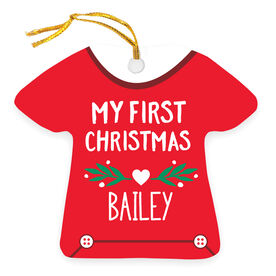Personalized Ornament - Baby's First Christmas