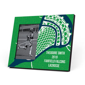 Guys Lacrosse Photo Frame - Giant Stick