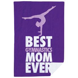 Gymnastics Premium Blanket - Best Mom Ever