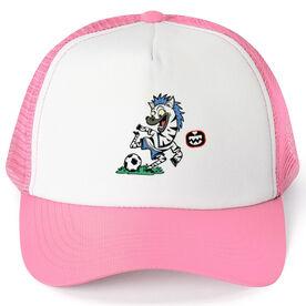 Seams Wild Soccer Trucker Hat - Zipbra