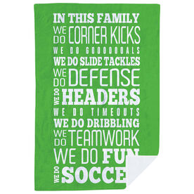 Soccer Premium Blanket - We Do Soccer