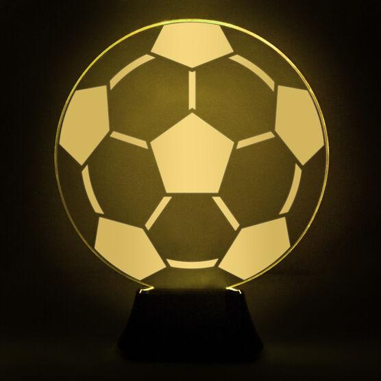 Soccer Acrylic LED Lamp Soccer Ball