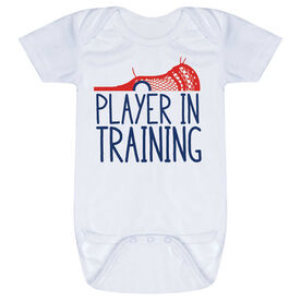 Guys Lacrosse Baby One-Piece - Player In Training