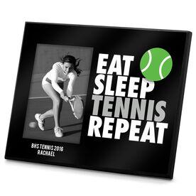Tennis Photo Frame Eat Sleep Tennis Repeat