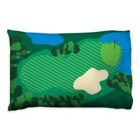 Golf Pillowcase - The Course