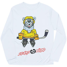 Seams Wild Hockey Long Sleeve Tech Tee - Northern