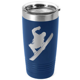 Snowboarding 20 oz. Double Insulated Tumbler - Silhouette