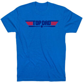Baseball T-Shirt Short Sleeve - Top Dad Baseball