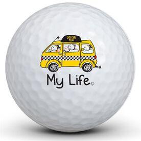 My Life - Soccer Taxi Golf Balls