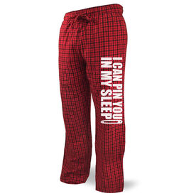 Wrestling Lounge Pants I Can Pin You In My Sleep