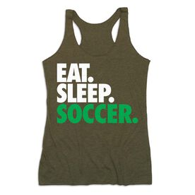 Soccer Women's Everyday Tank Top - Eat. Sleep. Soccer
