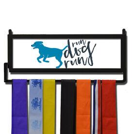 RunnersWALL Run Dog Run Medal Display