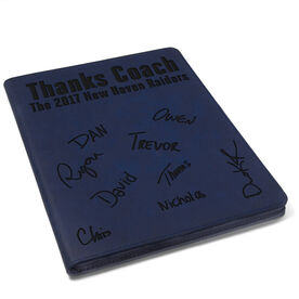 Wrestling Executive Portfolio - Thanks Coach with Signatures