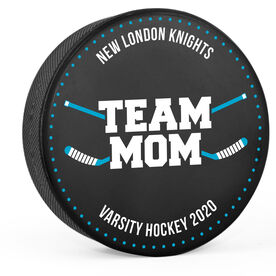 Personalized Hockey Puck - Team Mom
