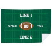 Football Premium Blanket - Personalized Football Captain