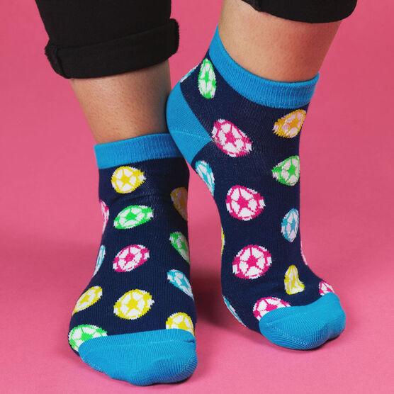 Soccer Ankle Socks - Soccer All Day