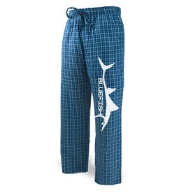 Fly Fishing Lounge Pants Bluefish Silhouette