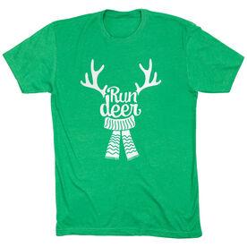 Running Short Sleeve T- Shirt - Run Deer