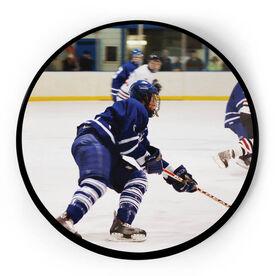 Hockey Circle Plaque - Custom Photo