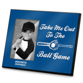 Baseball Photo Frame Take Me Out To The Ball Game