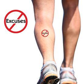 NO Excuses SportTATS Temporary Running Tattoo