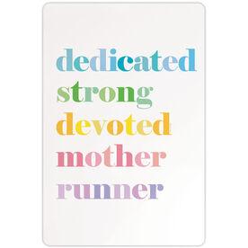 """Running 18"""" X 12"""" Wall Art - Mantra Mother"""