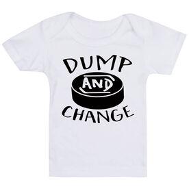 Hockey Baby T-Shirt - Dump and Change