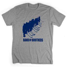 Hockey Tshirt Short Sleeve Hockey Band of Brothers