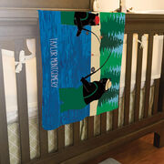 Fly Fishing Baby Blanket - Bears