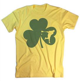 Guys Lacrosse Vintage T-Shirt - Shamrock