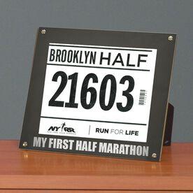 BibDISPLAY - Runners Race Bib Frame - My First Half Marathon