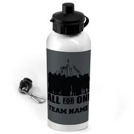 Lacrosse 20 oz. Stainless Steel Water Bottle Personalized All For One