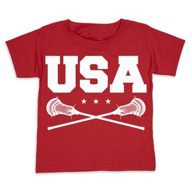 Guys Lacrosse Toddler Short Sleeve Tee - USA Lacrosse