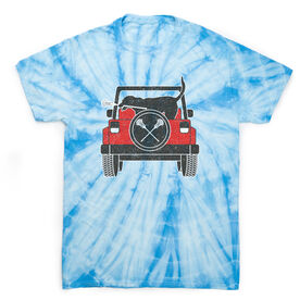 Guys Lacrosse Short Sleeve T-Shirt - Chillax Cruiser Tie Dye