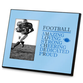 Football Photo Frame - Mother Words