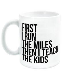 Running Coffee Mug - Then I Teach The Kids