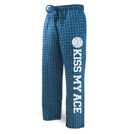 Volleyball Lounge Pants Kiss My Ace with Volleyball
