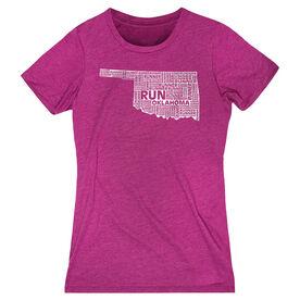 Women's Everyday Runners Tee Oklahoma State Runner