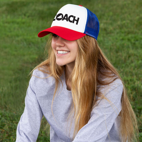 Cheerleading Trucker Hat - Coach