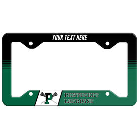 License Plate Holder - Pentucket Youth Lacrosse Logo