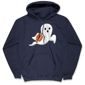 Football Hooded Sweatshirt - Football Ghost