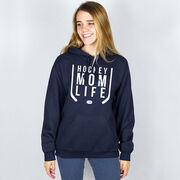 Hockey Hooded Sweatshirt - Hockey Mom Life