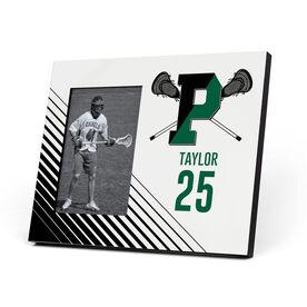 Lacrosse Photo Frame - Pentucket Youth Lacrosse Logo (Black)