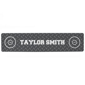 "Wrestling Aluminum Room Sign - Your Name Wrestling (4""x18"")"
