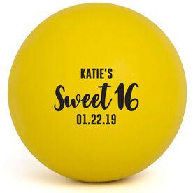 Girls Lacrosse Ball - Sweet 16