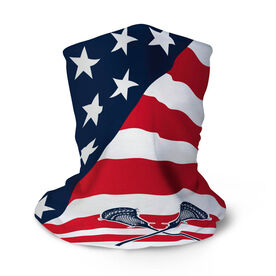 Guys Lacrosse Multifunctional Headwear - USA Flag RokBAND